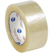 "Partners Brand ""Whisper Smooth"" Acrylic Carton Sealing Tape, 2"" x 110 yds., Clear, 6/Case (T9021306PK)"