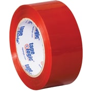 "Tape Logic Carton Sealing Tape, 2"" x 110 yds., Red, 18/Case (T90222R18PK)"
