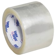 "Tape Logic #1000 Hot Melt Tape, 3"" x 55 yds., Clear, 6/Case (T90510006PK)"