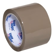 "Tape Logic Acrylic Tape, 2.6 Mil, 3"" x 110 yds., Tan, 6/Case (T9052291T6PK)"