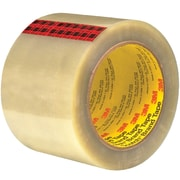 "3M™ Scotch  351 Carton Sealing Tape, 3"" x 55 yds., Clear, 24/Case (72319-3)"