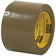 "3M™ Scotch  373 Carton Sealing Tape, 3"" x 55 yds., Tan, 6/Case (T905373T6PK)"