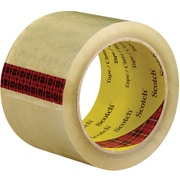 "3M™ Scotch  3743 Carton Sealing Tape, 3"" x 55 yds., Clear, 6/Case (T90537436PK)"
