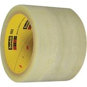 "3M™ Scotch  353 Carton Sealing Tape, 3"" x 55 yds., Clear, 24/Case (72325-4)"