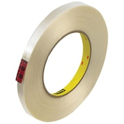 "3M™ Scotch  890MSR Strapping Tape, 1/2"" x 60 yds., Clear, 72/Case (74057-9)"