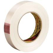 "3M™ Scotch  8916 Strapping Tape, 3/4"" x 60 yds., Clear, 12/Case (T914891612PK)"