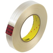 "3M™ Scotch  890MSR Strapping Tape, 1"" x 60 yds., Clear, 12/Case (T915890M12PK)"