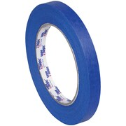 "Tape Logic 3000 Painter's Tape, 1/2"" x 60 yds., Blue, 72/Case (T9333000)"