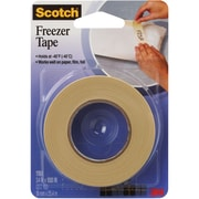 "3M™ Scotch  178 Freezer Tape, 3/4"" x 1000', Natural, 12/Case (T93417812PK)"