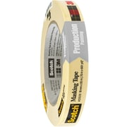 "3M™ Scotch  2020 Masking Tape, 3/4"" x 60 yds., Natural, 12/Case (T934202012PK)"