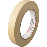 "3M™ 203 Masking Tape, 3/4"" x 60 yds., Natural, 12/Case (T93420312PK)"