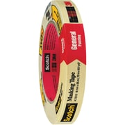 "3M™ Scotch  2050 Masking Tape, 3/4"" x 60 yds., Natural, 48/Case (05617-8)"