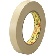 "3M™ Scotch  2308 Masking Tape, 3/4"" x 60 yds., Natural, 12/Case (T934230812PK)"