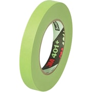 "3M™ 401+/233+ Masking Tape, 3/4"" x 60 yds., Green, 48/Case (64760-4)"
