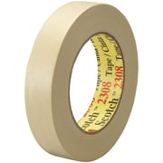 "3M™ Scotch  2308 Masking Tape, 1"" x 60 yds., Natural, 12/Case (T935230812PK)"