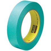 "3M™ Scotch  2480S Masking Tape, 1"" x 60 yds., Green, 36/Case (07547-0)"