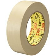 "3M™ Scotch  2308 Masking Tape, 1 1/2"" x 60 yds., Natural, 12/Case (T936230812PK)"