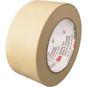 "3M™ 203 Masking Tape, 2"" x 60 yds., Natural, 12/Case (T93720312PK)"