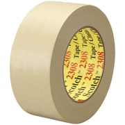 "3M™ Scotch  2308 Masking Tape, 2"" x 60 yds., Natural, 24/Case (06548-2)"