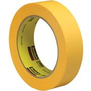 "3M™ Scotch  2460 Flatback Tape, 1"" x 60 yds., Gold, 12/Case (T945246012PK)"