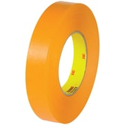 "3M™ Scotch  2525 Flatback Tape, 1"" x 60 yds., Orange, 6/Case (T94525256PK)"