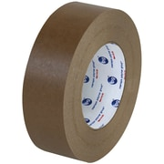 "Partners Brand Industrial 534 Flatback Tape, 1"" x 60 yds., Brown, 6/Case (T9455346PK)"