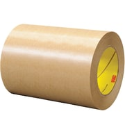 "3M™ 465 Adhesive Transfer Tape, Hand Rolls, 6"" x 60 yds., Clear, 8/Case (03351-3)"