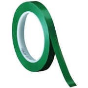 "3M™ 471 Vinyl Tape, 1/4"" x 36 yds., Green, 144/Case (05130-2)"