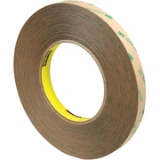 "3M™ Scotch  9472LE Adhesive Transfer Tape, Hand Rolls, 1/2"" x 60 yds., Clear, 18/Case (40655-3)"