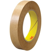 """3M™ 463 Adhesive Transfer Tape, Hand Rolls, 3/4"""" x 60 yds., Clear, 48/Case (03228-8)"""