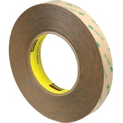 "3M™ Scotch  9472LE Adhesive Transfer Tape, Hand Rolls, 3/4"" x 60 yds., Clear, 3/Case (T96494723PK)"