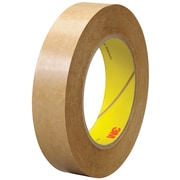 """3M™ 463 Adhesive Transfer Tape, Hand Rolls, 1"""" x 60 yds., Clear, 6/Case (T9654636PK)"""