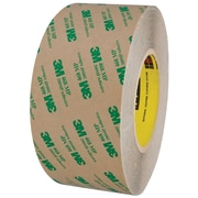 "3M™ 468MP Adhesive Transfer Tape, Hand Rolls, 3"" x 60 yds., Clear, 1/Case (T9674681PK)"
