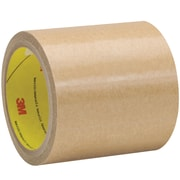 """3M™ 9458 Adhesive Transfer Tape, Hand Rolls, 4 1/4"""" x 60 yds., Clear, 1/Case (T96994581PK)"""
