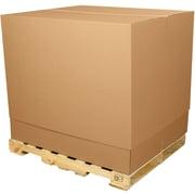 "Partners Brand Telescoping Outer Boxes, 36 1/2"" x 36 1/2 x 40"", Kraft, 5/Bundle (TELE3636TOP)"