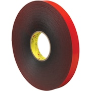 "3M™ 4611 VHB™ Tape, 1"" x 5 yds., Gray, 1/Case (VHB461101R)"