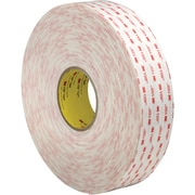 "3M™ 4945 VHB™ Tape, 2"" x 5 yds., White, 1/Case (VHB494502R)"