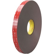 "3M™ 4947F VHB™ Tape, 1"" x 5 yds., Black, 1/Case (VHB494701R)"
