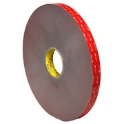 "3M™ 4991 VHB™ Tape, 1"" x 5 yds., Gray, 1/Case (VHB499101R)"