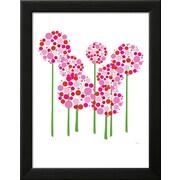 "Art.com  Avalisa 'Pink Allium' 14"" x 18"" Print (13014125)"