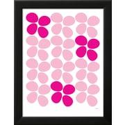 "Art.com  Avalisa 'Pink Flowers' 14"" x 18"" Print (13140211)"