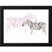 "Art.com  Avalisa 'Pink Zebra' 18"" x 14"" Print (13140215)"