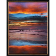 "Art.com Frank Krahmer 'Thunderstorm Clouds over Timor Sea Before Monsoon' 20"" x 26"" Print (9783870)"