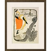 "Art.com Henri de Toulouse-Lautrec 'Reproduction ""Jane Avril"" at the Jardin De Paris, 1893' 16"" x 20"" Print (13377920)"