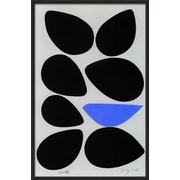 Art.com Jerry Kott 'Birth/Seven Eggs with Bluebird' 13 x 20 Print (10651573)