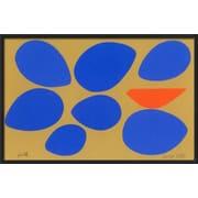 "Art.com Jerry Kott 'Birth/Seven Eggs with Orange Bird' 20"" x 13"" Print (10651574)"