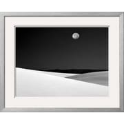 "Art.com Jim Zuckerman 'Full Moon Over the Desert, White Sands National Monument, New Mexico' 31"" x 25"" Print (9203680)"