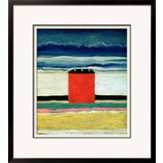"Art.com Kasimir Malevich 'Red House, 1932' 26"" x 29"" Print (9715717)"