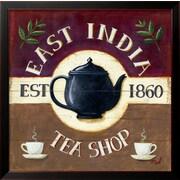 """Art.com Mid Gordon 'East India Tea Shop' 18"""" x 18"""" Print (13719630)"""
