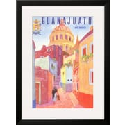 "Art.com  'Poster for Guanajuato, Mexico, Colonial Streets' 22"" x 29"" Print (13161654)"